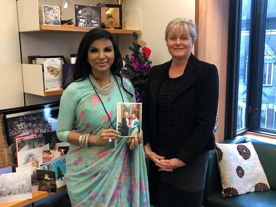Anne Main MP meets new Bangladesh High Commissioner, Saida Muna Tasneem