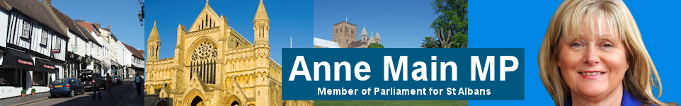 Anne Main MP - Member of Parliament for St Albans