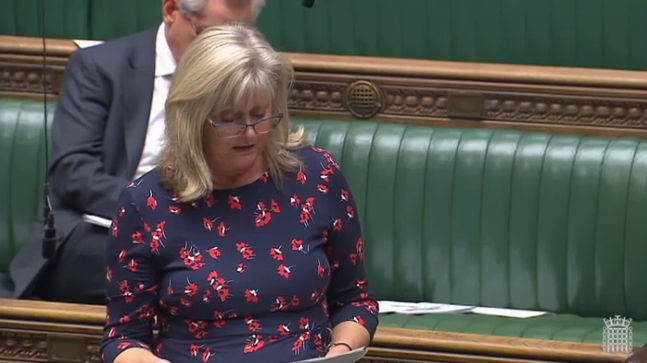 Anne Main MP speaks in the debate on the Queen's Speech, October 2019