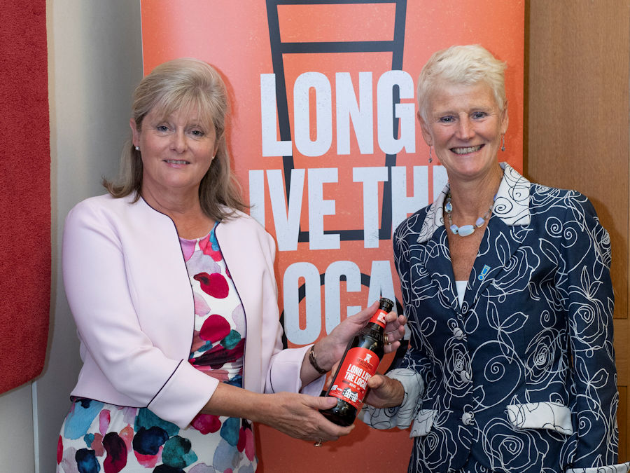 Anne Main backs the Long Live the Local campaign