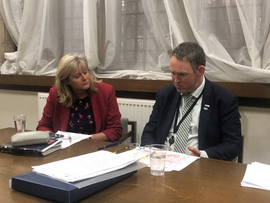 Anne Main MP and Aviation Minister, Paul Maynard MP