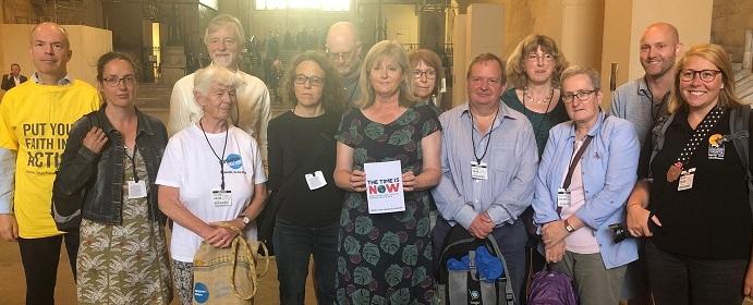 Anne Main MP meets St Albans climate change activists