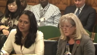 Anne Main with fellow MP, Rushanara Ali, call for a debate on the ongoing Rohingya refugee crisis in Bangladesh and Myanmar