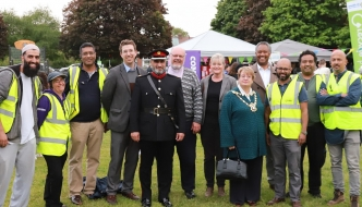 Anne Main MP attends St Albans Big Iftar.