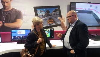 Anne Main MP visits Imagination Technologies in Kings Langley