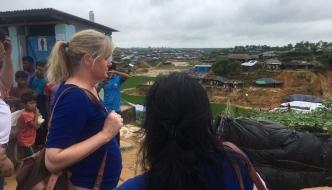 Anne Main visits Rohingya refugee camps