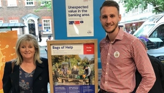 Anne Main MP urges charities to apply for Tesco Centenary funding.