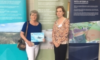 Anne Main attends the Luton Airport consultation event at the Jubilee Centre