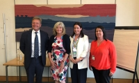 Anne Main MP and the Prevention of Plastic Waste APPG with Nikki Dixon, Asda's head of plastic waste reduction