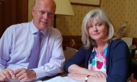 Anne Main meeting with Transport Secretary Chris Grayling