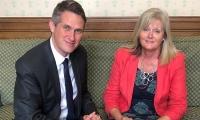 Anne Main MP with Education Secretary Rt Hon Gavin Williamson CBE MP