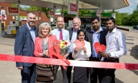 Anne Main visited the Shell King William Service Station to officially open the new Post Office instore