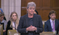 Anne Main leading a debate in Westminster Hall on school funding